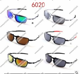cheap color sunglasses NZ - Fashion men Multi-Color Famous Design Sunglasses For women Cheap cycling Sports Sunglasses High Quality Discount Price 6 Colors glasses 6020