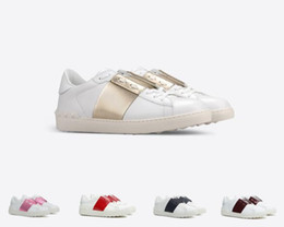 Discount summer comfort shoes - Comfort Casual Shoes Women Men Brand Rivets Flats Shoes Weaving Leather Patchwork Trendy Casual Shoes Studded Sports Ska