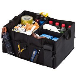 Коробка для хранения автомобилей Водонепроницаемый складной автомат для хранения багажника Многофункциональный автозагрузчик багажника Органайзер Авто Интерьер Аксессуары
