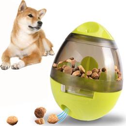 Ingrosso Commercio all'ingrosso 1 PZ Transer Cibo per cani di stoccaggio Cane che beve giocattolo Cibo per cani Tumbler Animali che mangiano sport Suscitano l'appetito del cane