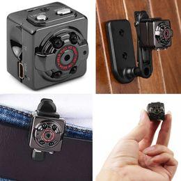 Venta al por mayor de Mini cámara SQ8 Micro DV Camcorder Action Night Vision Digital Sport DV Inalámbrico Mini Voice Video TV Out Cámara HD 1080P 720P Envío gratis