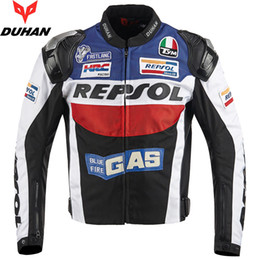 Chinese  BRAND DUHAN Motorcycle Jackets moto GP REPSOL motorbike Racing Jacket Top Quality OXFORD Riding Jersey manufacturers