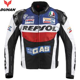 venda por atacado Duhan Motorcycle Jackets Moto GP Repsol Motocicleta Corrida Jacket Top Quality Oxford Andar Jersey