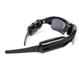 SunglaSSeS digital online shopping - Multi Function Black Sunglasses Digital Video Recorder Camera Designer Glasses Popular Portable Anti Wear Outdoor Eyewear Men nl jj