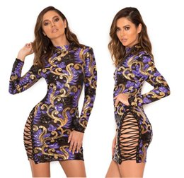 $enCountryForm.capitalKeyWord Canada - New Fashion Moldbab Sexy Super Show Stature Dress Women Clothing Colours Spangle Mention Hip Thin Club Party Hollow Sexy Dress