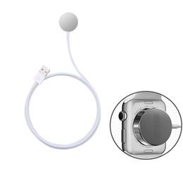 Опт для Apple watch кабель зарядного устройства магнитный зарядный кабель для apple watch серии 38 мм 42 мм зарядки короткий кабель для dhl бесплатная доставка