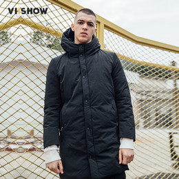 4706feea7af Wholesale-VIISHOW Brand 2017 Winter Cotton Padded Hooded coat Men,Waterproof  Parka Clothing,Thick Quilted Mens Hoodies Casaco MC2726174