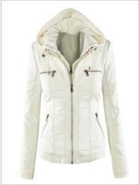 6xl ladies jacket online shopping - Plue Size XL Leather Jacket Women Autumn Winter Outerwear Coat Lady PU Leather Clothing Female Motorcycle Jackets