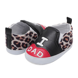 $enCountryForm.capitalKeyWord NZ - 2018 New Letter Printed Casual Shoes Leopard Stitching Shallow Baby Toddler Princess Shoe Newborn Infant Baby Shoes Y