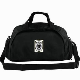 $enCountryForm.capitalKeyWord Canada - Thessaloniki duffel bag FC Paok tote Greece football club backpack Soccer badge luggage Sport shoulder duffle Outdoor sling pack