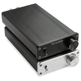 Mini Digital Audio Australia - Freeshipping FX-Audio FX1002A 160W*2 TDA7498E Hifi 2.0 Pure Digital Audio Power Amplifier Mini Home Amplifier Aluminum Enclosure