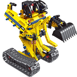 $enCountryForm.capitalKeyWord UK - Puzzle assembled excavator car engineering model assembly splicing building blocks two forms toys 6-12 years old boy toys