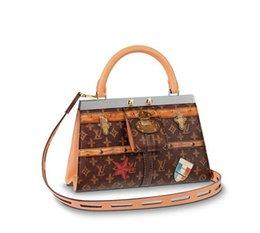 $enCountryForm.capitalKeyWord Australia - huweifeng4 FRAME CROWN M43946 2018 NEW WOMEN FASHION SHOWS SHOULDER BAGS TOTES HANDBAGS TOP HANDLES CROSS BODY MESSENGER BAGS