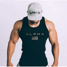 Wholesale Men Summer Gyms Fitness Bodybuilding Hooded Tank Top Fashion Mens Crossfit Clothing Loose Breathable Sleeveless Shirts Vest