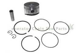 replacement parts honda Canada - Piston kit 56mm for Honda GX100 engine Rammer piston with ring pin clip replacement part