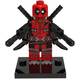 $enCountryForm.capitalKeyWord Australia - Deadpool 30pcs lot Marvel Super Heroes figure Building Blocks Sets Model toys The Avengers mini figures toys
