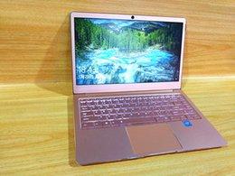 Custodia in lega di alluminio per computer portatile da 14 pollici rosa N3450 1920 * 108P 6GB Ram 64 GB Rom Windows 10 Sistema operativo con sistema operativo Fast Computer portatile
