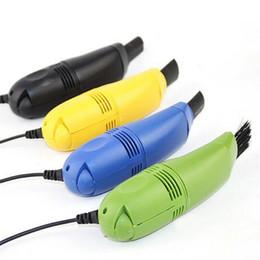 Mini Ordenador portátil Aspiradores de teclado Teclado USB Limpiador Ordenador portátil Cepillo Limpieza de polvo Alta calidad