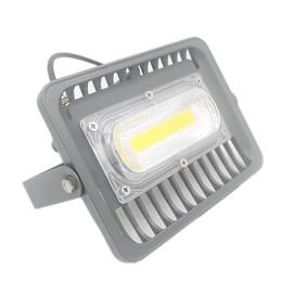 Ultrathin Floodlight UK - Ultrathin LED flood light 30W high brightness aluminum AC85-265V waterproof outdoor COB led Floodlight Spotlight for garden home