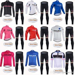 2018 TOUR OF ITALY ropa ciclismo pro team Winter Cycling Jersey Long Sleeve  Thermal Fleece Bike Long Pants Set Men Cycling Clothing C2801 c2c896267