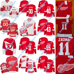 China Detroit Red Wings Jersey Filip Zadina Jimmy Howard Dylan Larkin Gustav Nyquist Anthony Mantha Mike Green Tyler Bertuzzi Alex Delvecchio Howe supplier nyquist jersey suppliers