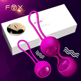 $enCountryForm.capitalKeyWord Australia - FOX silicone Smart touch Remote Control Vibrating Egg koro Kegel Balls Vaginal Tight exercise Vibrator Ball Adult Sex Product D18111501