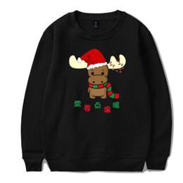 a8bbfa8c650e4e funny christmas hoodies 2019 - BTS Western Traditional Festivals Christmas  Pullover Hoodie Sweatshirt Women Men Autumn