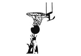 $enCountryForm.capitalKeyWord UK - 30*16.7CM Basketball wall sticker sports sticker decor for boys CA-384