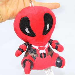 stuffed animal stuffing NZ - 2018 Party gifts Marvel Deadpool Plush Toys Soft Stuffed Dolls 10cm Soft Doll PP Cotton 8 inch Deadpool Stuffed Animals Kids