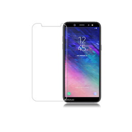 Iphone Glasses Australia - For Clear NEW Iphone XR XS MAX XS 8 plus Tempered Glass Screen Protector for Samsung A6 2018 screen clear film protection Oppbag