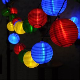 $enCountryForm.capitalKeyWord Canada - 10 LED 20 LED Waterproof Solar Power Lantern Lamp Festive Garden Ball String Fairy Light Multi Color Christmas Outdoor Lighting