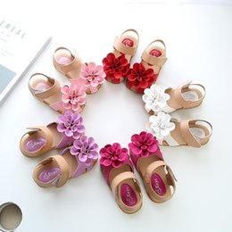 132606e414c1 Korean fashion style girls shoes online shopping - 2018 New Girls Soft Sole  Korean Style Flower