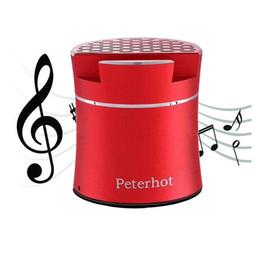 Mini altavoz inalámbrico Bluetooth Agitar para alternar canción al revés para silenciar el altavoz de fantasía Subwoofer Altavoz estéreo portátil con soporte para teléfono en venta