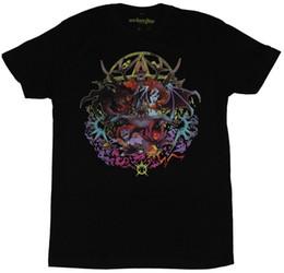 $enCountryForm.capitalKeyWord NZ - DOTA 2 Mens T-Shirt - Foulfell Squad Scary Demon Collection Mens 2018 fashion Brand T Shirt O-Neck 100%cotton T-Shirt Tops Tee