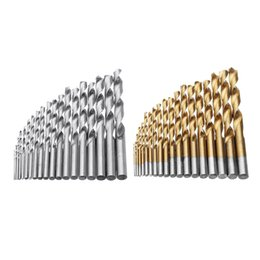 $enCountryForm.capitalKeyWord UK - 19pcs 1-10mm HSS Twist Drill Bit Set Straight Shank Twist Drill Bit