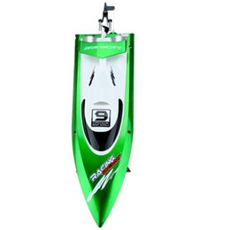 $enCountryForm.capitalKeyWord NZ - Feilun FT009 2.4G cooling water 4CH Remote Control of RC Outdoor high speed racing boats(green)