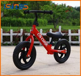 $enCountryForm.capitalKeyWord NZ - 12inch 5 Colors Children Balance Bike Portable Indoor Outdoor Balance Bicycle No Foot Pedal Kids Bicycle Baby Walker Riding Toys