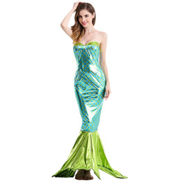 $enCountryForm.capitalKeyWord UK - Character Cosplay Party Women Mermaid Costume Halloween Dress 2018