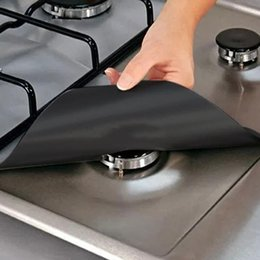 Kitchen Stove Australia - Special Kitchen 4Pcs Set Gas Stove Cooker Protectors Cover Liner Clean Mat Pad Protector Reusable Kitchen Accessories
