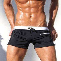 8efc750533767 Sexy Swimsuit Man 2018 New Swimwear Men Gay Mens Swimwear Swimsuits  Swimming Trunks Mens Swim Briefs Shorts Beach Sunga