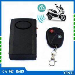 Auto Sicherheit Universal Motorrad Alarm Motorrad Motorroller Diebstahlwarnanlage Alarm Wireless Remote Tür Fenster Motorrad Roller