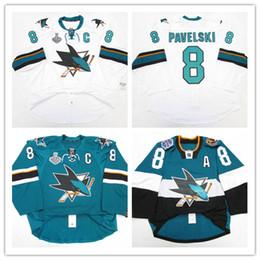 91be23460 Cheap custom JOE PAVELSKI SAN JOSE SHARKS 2015 2016 STADIUM SERIES JERSEY  stitch add any number any name Mens Hockey Jersey XS-5XL