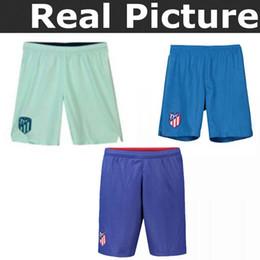 Pantalón corto de fútbol 2018-2019 Madrid Atlético hogar adultos 7  GRIEZMANN Correa Lucas Costa Koke Godin Luis Gimenez 2018 pantalones de  fútbol 6c4338bc78d16