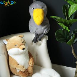 Personalized Dolls Australia - 1pc Lazy Toucan Plush Toys Stuffed Doll Sleepy Fox Brinquedos Animal Pillows Personalized Decoration 35 45cm