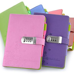 $enCountryForm.capitalKeyWord Australia - New originality NotA5 Personal diary with lock code Personal Notepad stationery Products Supplies gift
