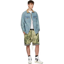 $enCountryForm.capitalKeyWord Canada - Fear of God Floral Plant Flowers Printed Shorts Casual Fashion Loose Straight Sport Jogging Fitness Summer Beach Street Short Pants HFYMKZ13