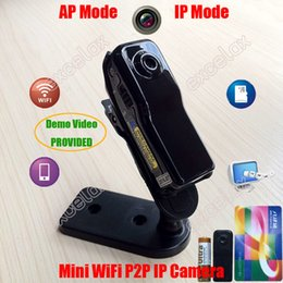md81s camera 2019 - Mini WiFi P2P IP DV Camera Camcorder Web Cam Wireless Phone Sport Vehicle Baby Monitor MD81S Motion Video Record TF SD C
