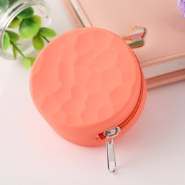 Circular Case Australia - Circular Silicone Honeycomb Pattern Zipper Bag Storage Packing Innovative Design Protective Shell Case For Herb Grinder Multiple Use