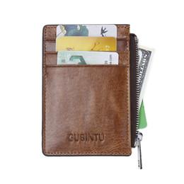 $enCountryForm.capitalKeyWord NZ - Casual Cowhide Leather RFID Daily Short Wallet Card Antimagnetic Wallets Black Coffee Color R025
