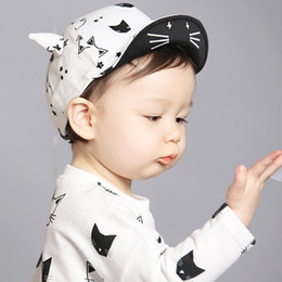 fallen hats Australia - Cartoon Baby Caps 2017 New Girl Boys Cap Summer Hats For Boy Infant Sun Hat With Ear Sunscreen Baby Girl Spring Fall s Hats